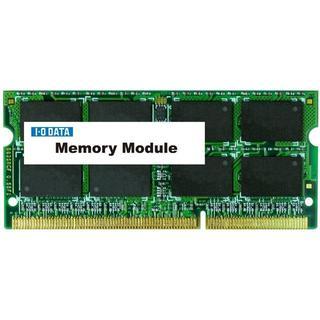 アイオーデータ(IODATA)の【新品】I-O DATA ノートPC用メモリ PC3-10600 4GB(PCパーツ)