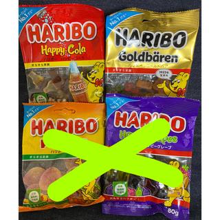 ゴールデンベア(Golden Bear)のハリボーグミ4袋(菓子/デザート)