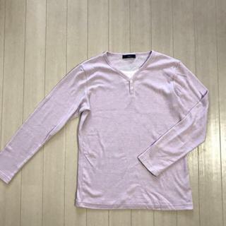 エルスピア  リブトップス(Tシャツ/カットソー(七分/長袖))