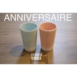【アニベルセル】ANNIVERSAIRE ペアカップ 結婚式 お祝い 美濃焼(グラス/カップ)