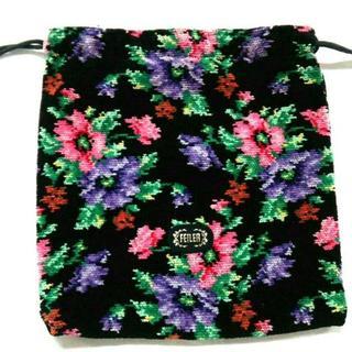 FEILER - フェイラー 小物美品  - 巾着袋/花柄