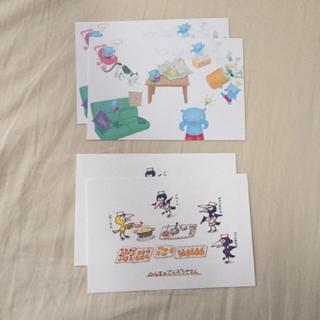 ポストカード4枚(その他)