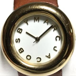 マークバイマークジェイコブス(MARC BY MARC JACOBS)のマークジェイコブス 腕時計 - MBM8520 白(腕時計)
