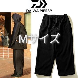 新品■DAIWA PIER39 コーデュロイパンツ M 黒 ブラック(ワークパンツ/カーゴパンツ)