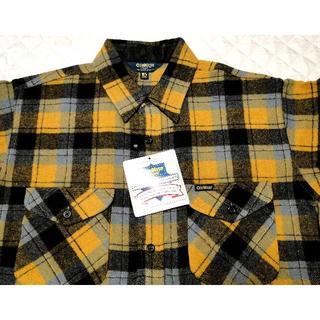 オシュコシュ(OshKosh)のVTG・90's(オシュコシュ)ウール チェックシャツ・新品・送料込(シャツ)