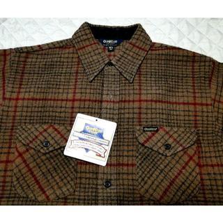 オシュコシュ(OshKosh)のVTG・90's(オシュコシュ)ウール チェックシャツ・M・新品・送料込(シャツ)
