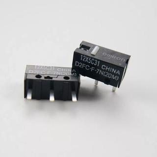 オムロン(OMRON)の新品 OMRON D2FC-F-7N(20M) 2個 マウス 改造 修理(PC周辺機器)