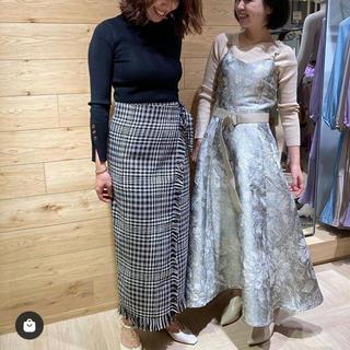 ランダ(RANDA)のランダ♡新品ツイードラップスカート(ロングスカート)