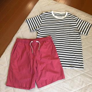 ムジルシリョウヒン(MUJI (無印良品))の無印良品 メンズ夏服セット(ショートパンツ)