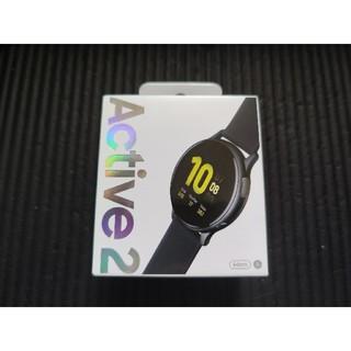 ギャラクシー(Galaxy)のGalaxy Watch Active2 44mm アルミ グローバル版 美品(腕時計(デジタル))