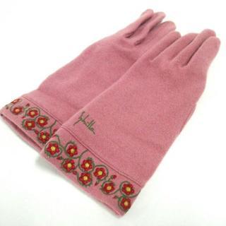 シビラ(Sybilla)のシビラ 手袋 レディース新品同様  刺繍(手袋)