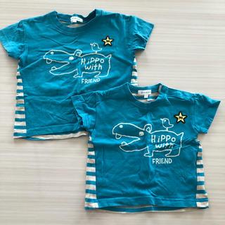サンカンシオン(3can4on)のサンカンシオン かば お揃いTシャツ(Tシャツ)