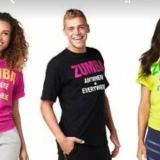 ズンバ(Zumba)のZumba ズンバTシャツ 黒Sale(Tシャツ(半袖/袖なし))
