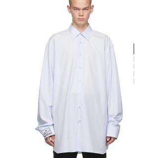 ラフシモンズ(RAF SIMONS)のover size shirt(シャツ)