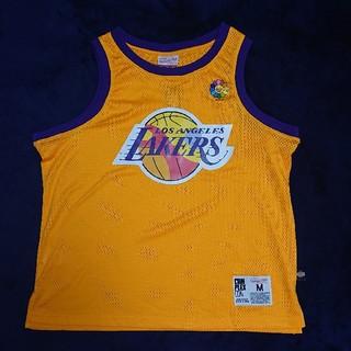 ミッチェルアンドネス(MITCHELL & NESS)の【限定品】村上隆×LOSANGELS Lakers×Mitchell&Ness(Tシャツ/カットソー(半袖/袖なし))