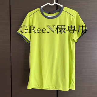 ジーユー(GU)のメンズSTシャツ(トレーニング用品)