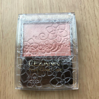 セザンヌケショウヒン(CEZANNE(セザンヌ化粧品))のセザンヌ パールグロウチーク P2ベージュコーラル(チーク)