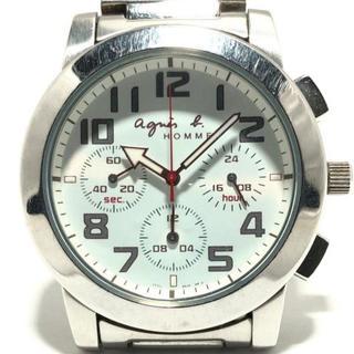 アニエスベー(agnes b.)のアニエスベー 腕時計 - 7T11-0AG0 メンズ(その他)