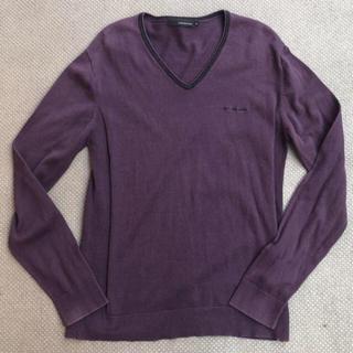 カルバンクライン(Calvin Klein)のcalvin klein jeans Vネックカットソー サイズXL(ニット/セーター)