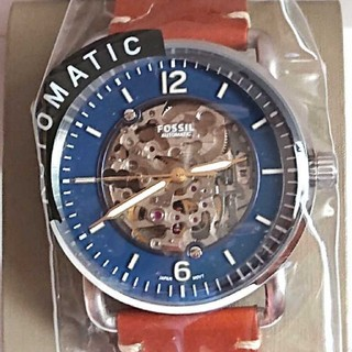 フォッシル(FOSSIL)の【新品保証書付き・定価35200円】FOSSIL  自動巻き腕時計 ME3159(腕時計(アナログ))