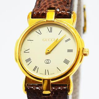 グッチ(Gucci)のグッチ 時計 レディース GUCCI クォーツ 3400F L SS  GP (腕時計(デジタル))