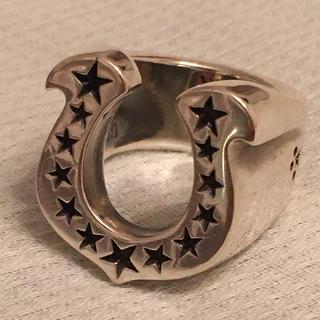テンダーロイン(TENDERLOIN)の美品 7号 テンダーロイン T-H.S.RING ホースシュー リング(リング(指輪))