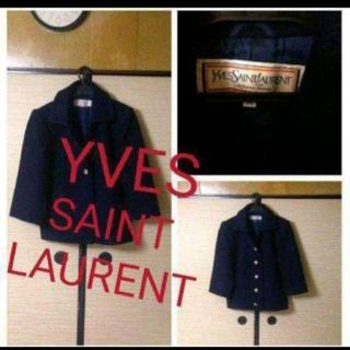 サンローラン(Saint Laurent)の男女兼用ウールYVES SAINT LAURENTvintageJACKET(テーラードジャケット)