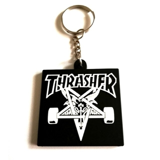スラッシャー(THRASHER)のTHRASHER(スラッシャー)◆ラバー・キーホルダー#002(スケートボード)