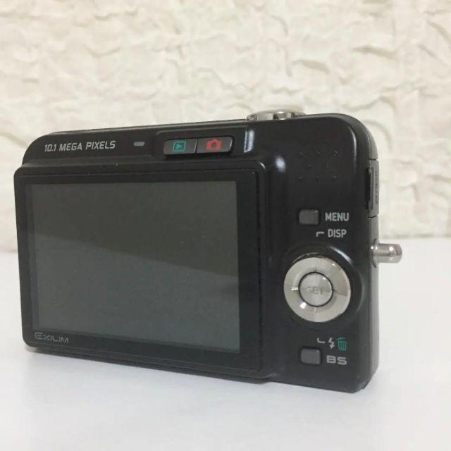 CASIO(カシオ)のデジカメ CASIO カシオ EXILIM EX-Z1080 ブラック スマホ/家電/カメラのカメラ(コンパクトデジタルカメラ)の商品写真