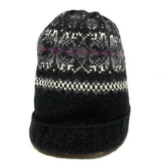 ラルフローレン(Ralph Lauren)のラルフローレン ニット帽 ウール×ナイロン(ニット帽/ビーニー)