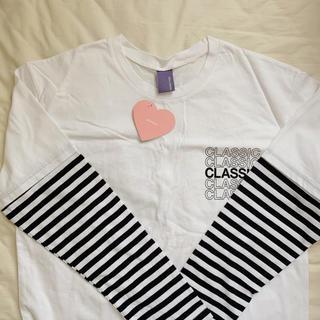 ゴゴシング(GOGOSING)の❤︎ tshirt ❤︎(Tシャツ(長袖/七分))
