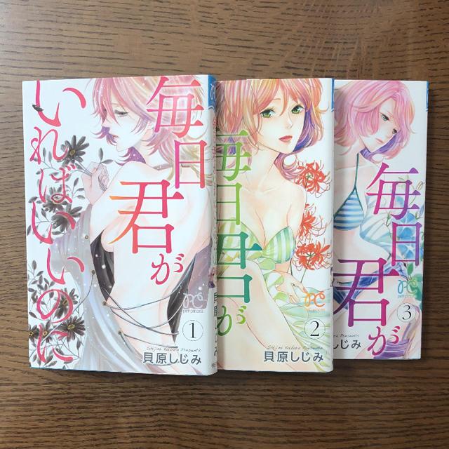 秋田書店(アキタショテン)の毎日君がいればいいのに 全3巻 エンタメ/ホビーの漫画(女性漫画)の商品写真