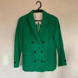トゥモローランド(TOMORROWLAND)の新品マカフィー ジャケット 定価25000(テーラードジャケット)