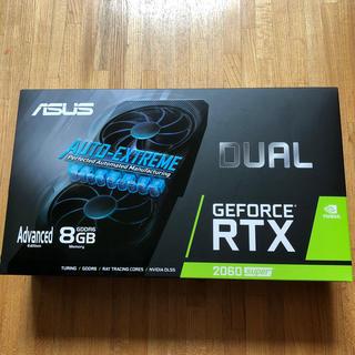 エイスース(ASUS)の【新品】RTX2060 super DUAL  ASUS(PCパーツ)