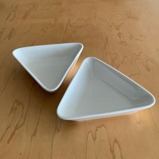 イッタラ(iittala)のイッタラ ティーマ トライアングルプレート ホワイト 2個セット(食器)