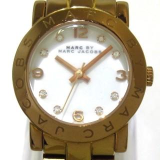 マークバイマークジェイコブス(MARC BY MARC JACOBS)のマークジェイコブス 腕時計 - MBM3078 白(腕時計)