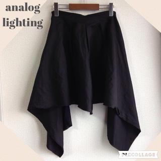 アナログライティング(analog lighting)の2wayアナログライティング変形パンツ(キュロット)