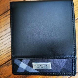 ブラックレーベルクレストブリッジ(BLACK LABEL CRESTBRIDGE)のBLACKLABEL(折り財布)