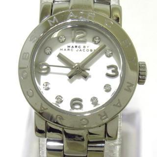マークバイマークジェイコブス(MARC BY MARC JACOBS)のマークジェイコブス 腕時計 MBM3225 白(腕時計)