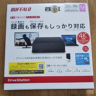 バッファロー(Buffalo)の外付ハードディスク 3TB BUFFALO HD-NRLD3.0U3-BA(PC周辺機器)