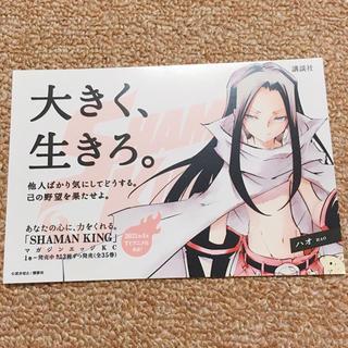 ハオ ポストカード シャーマンキング 展 シャーマンキング マンキン(キャラクターグッズ)