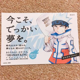 ホロホロ ポストカード シャーマンキング 展 シャーマンキング マンキン(キャラクターグッズ)