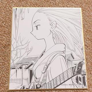 アンナ 恐山アンナ 色紙 シャーマンキング マンキン シャーマンキング展(キャラクターグッズ)