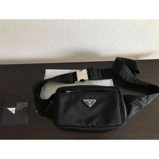 プラダ(PRADA)のPRADA 2VL977 Nylon Belt Bag ナイロンベルトバッグ(ボディーバッグ)