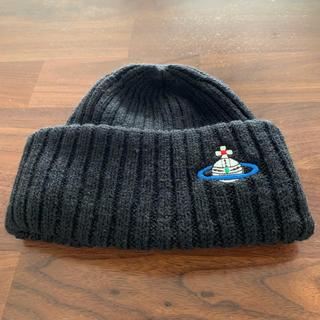 ヴィヴィアンウエストウッド(Vivienne Westwood)のVivienne Westwood ニット帽 Sサイズ(ニット帽/ビーニー)