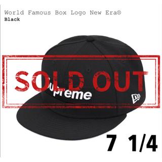 シュプリーム(Supreme)の売切れました!  World Famous Box Logo New Era®(キャップ)