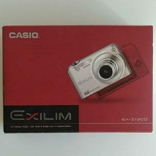 カシオ(CASIO)のデジタルカメラ デジカメ CASIO カシオ EX-Z1200 ★(コンパクトデジタルカメラ)