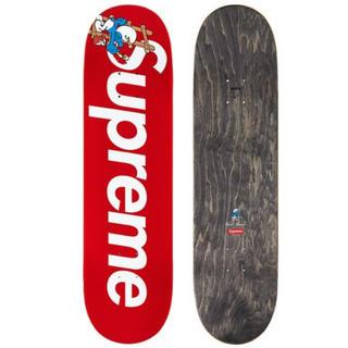 シュプリーム(Supreme)のSupreme Smurfs skateboard red(スケートボード)