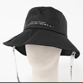 オフホワイト(OFF-WHITE)の新品 ACW バケットハット 帽子 ブラック 黒 A COLD WALL (ハット)
