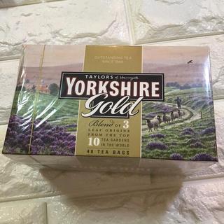 値下げ  紅茶テイラーズオブハロゲイトヨークシャーゴールド未開封40袋(茶)